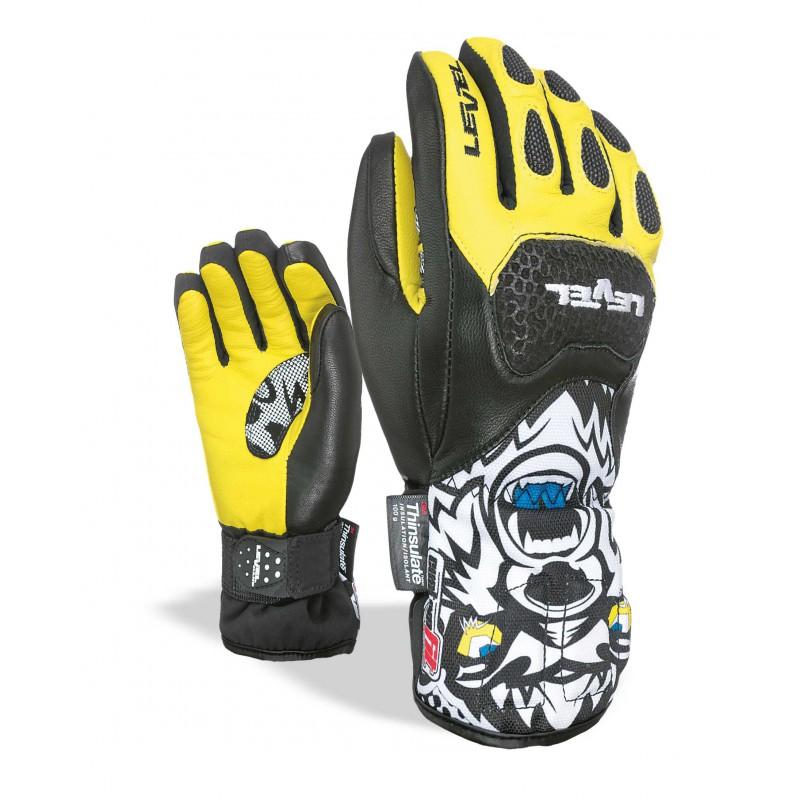 Gant SQ JR CF Noir-jaune - LEVEL